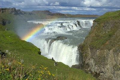 Wasserfall Gullfoss - Tagestour Golden Circle