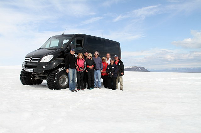 Superjeep-Tour auf den Gletscher Langjökull in Island