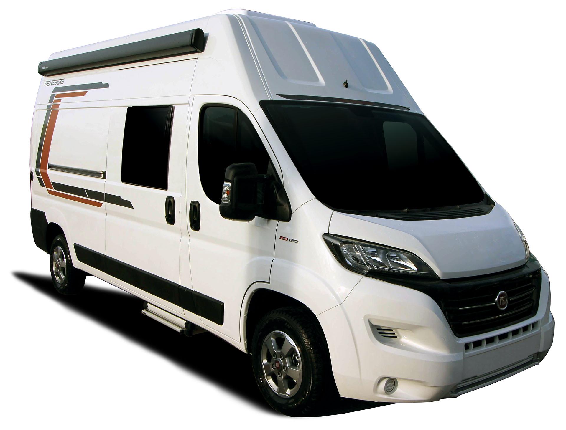 Europcar X8 - Kompaktes Wohnmobil für 8 Erwachsne & 8 Kinder zur