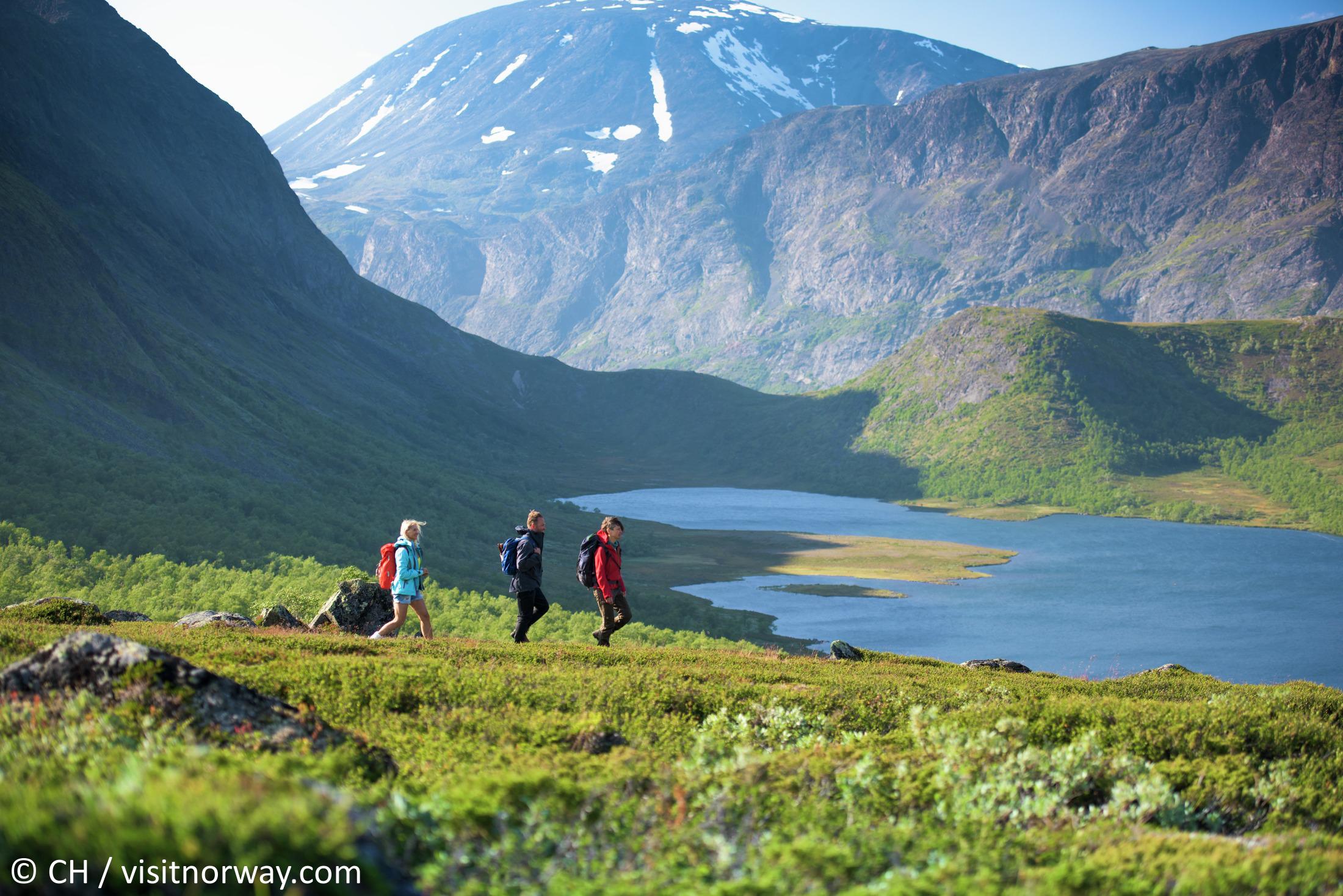 Wandern in norwegen günstig